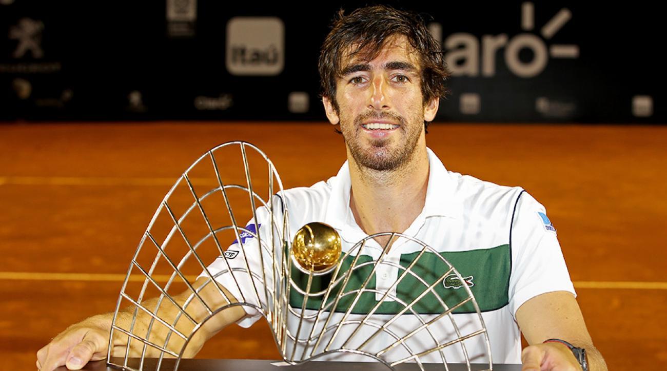 Pablo Cuevas Rio Open final ATP results