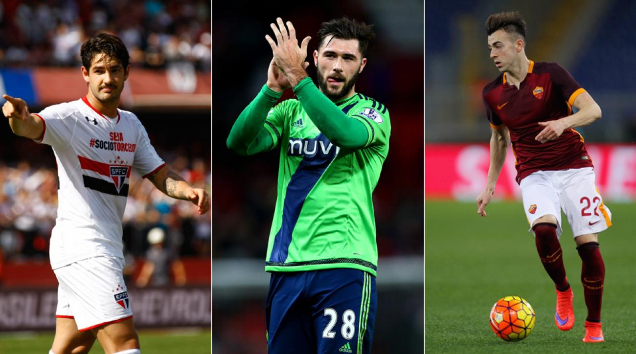 Alexandre Pato, Charlie Austin and Stephan El Shaarawy are three players who notably changed teams during the winter transfer window