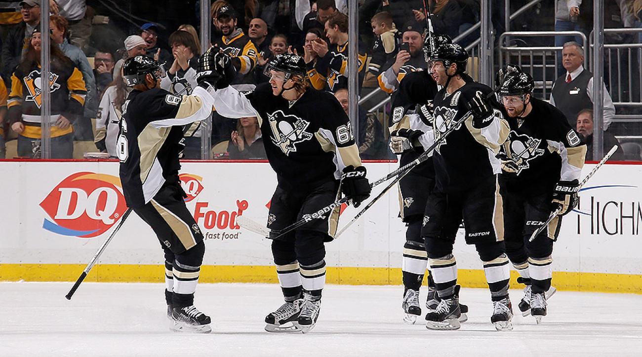 Pittsburgh Penguins Carl Hagelin