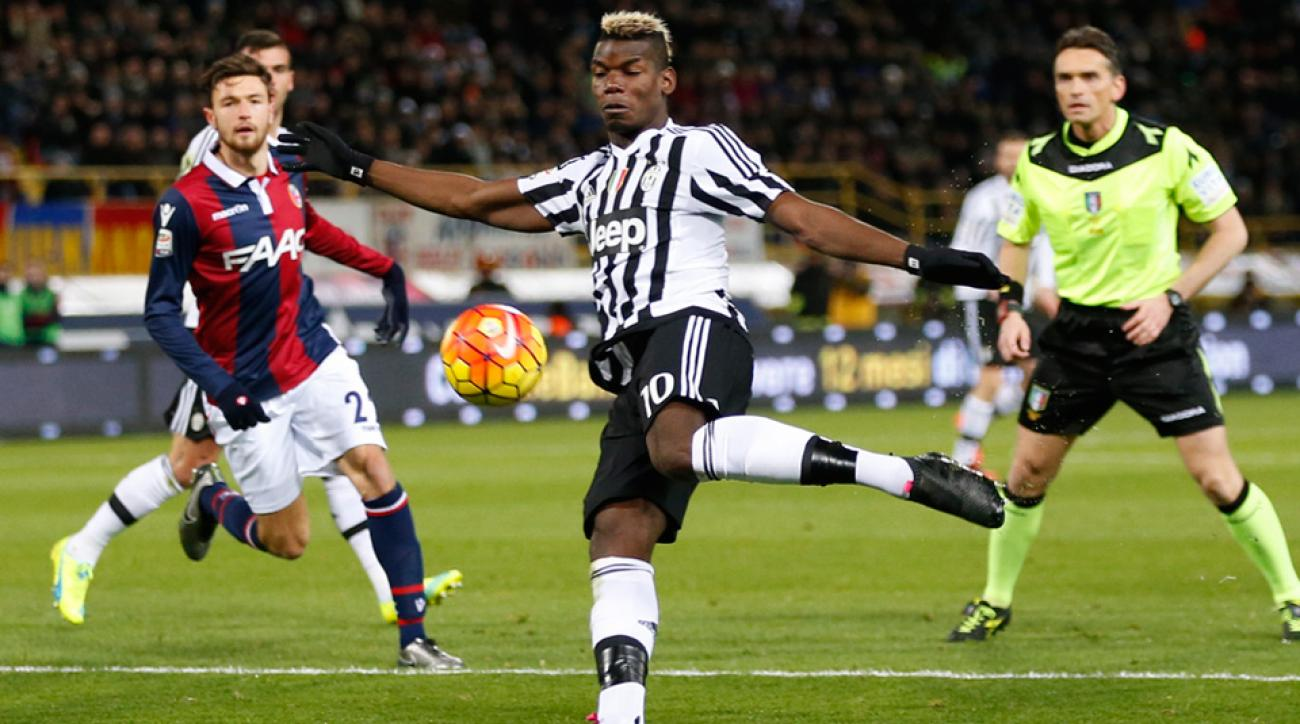Paul Pogba and Juventus played Bologna to a 0-0 draw