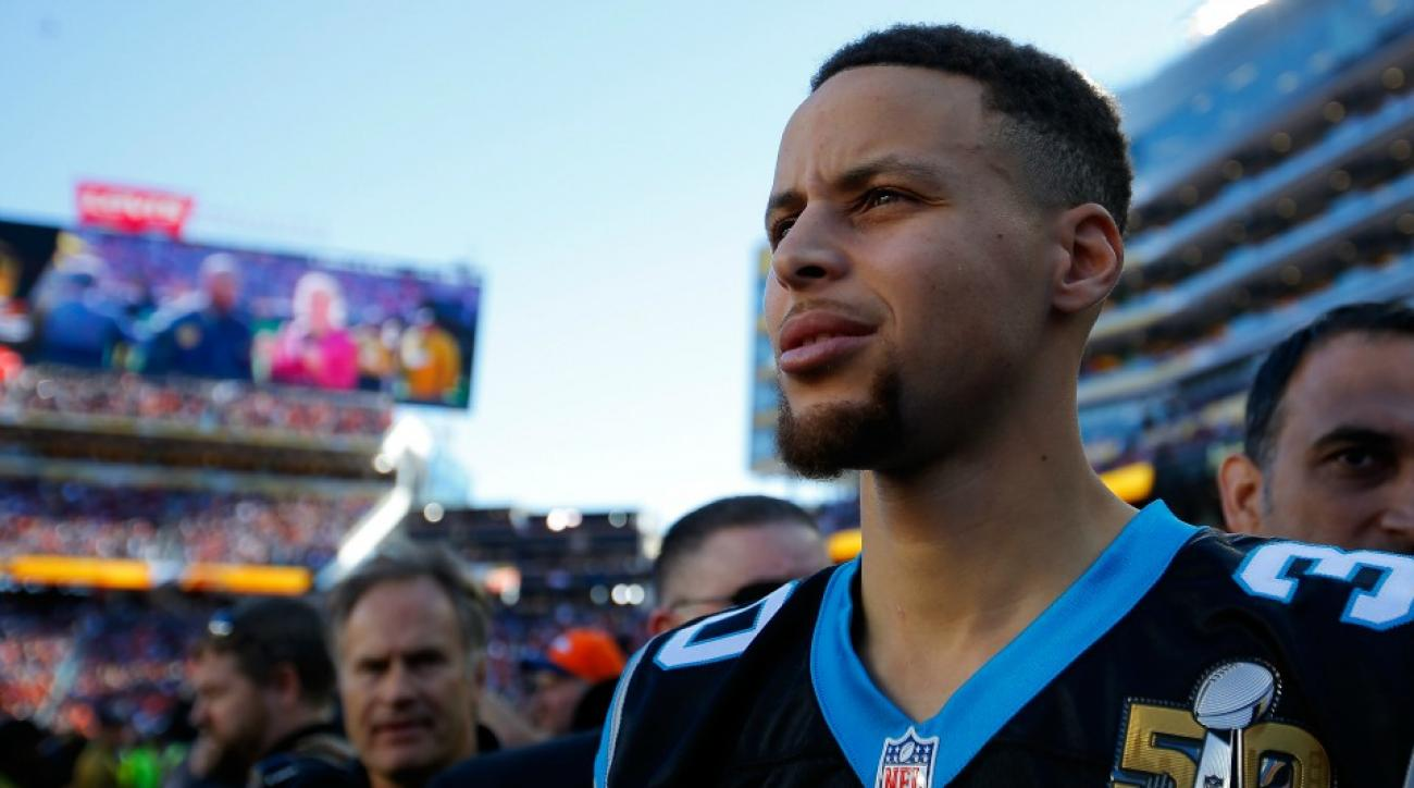 Stephen Curry, Bryce Harper hung out at the Super Bowl