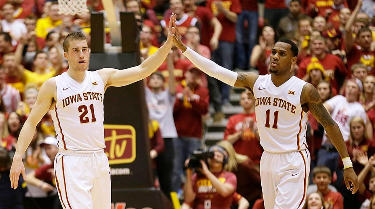 Iowa State's Matt Thomas and Monte Morris