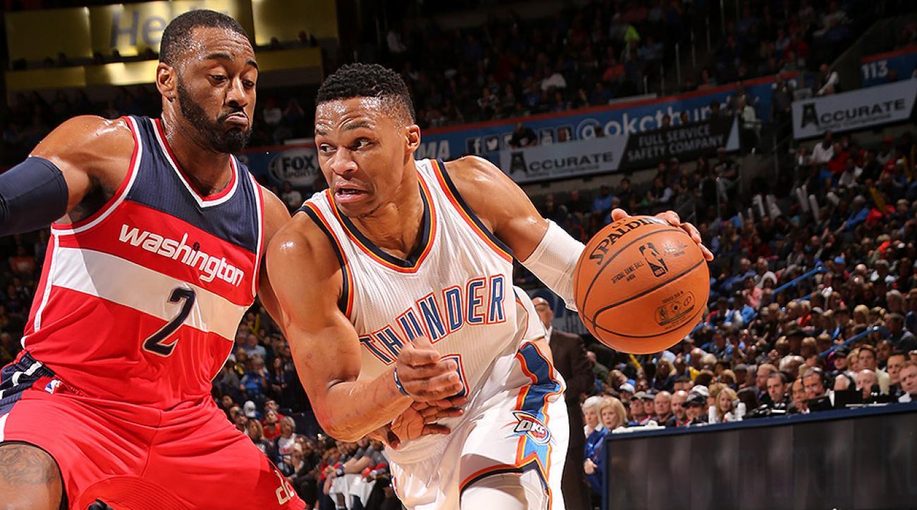 Oklahoma City Thunder Russell Westbrook