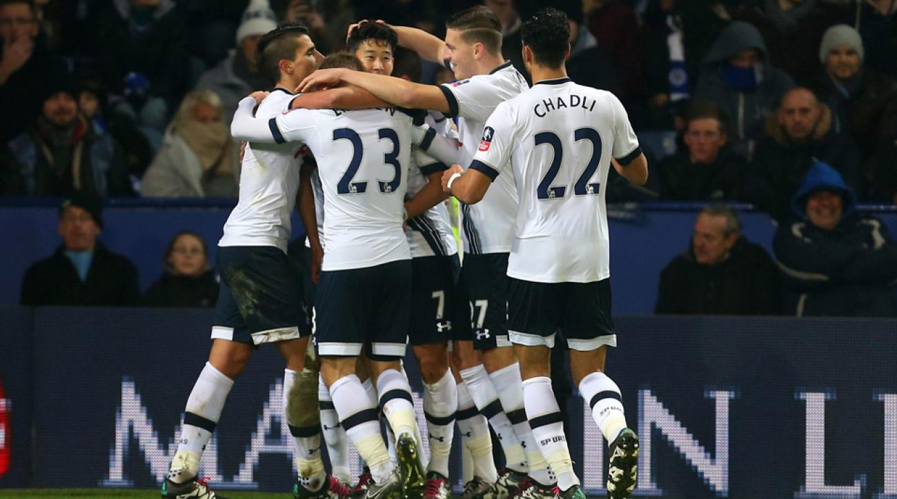 Tottenham beat Leicester City in an FA Cup third-round replay