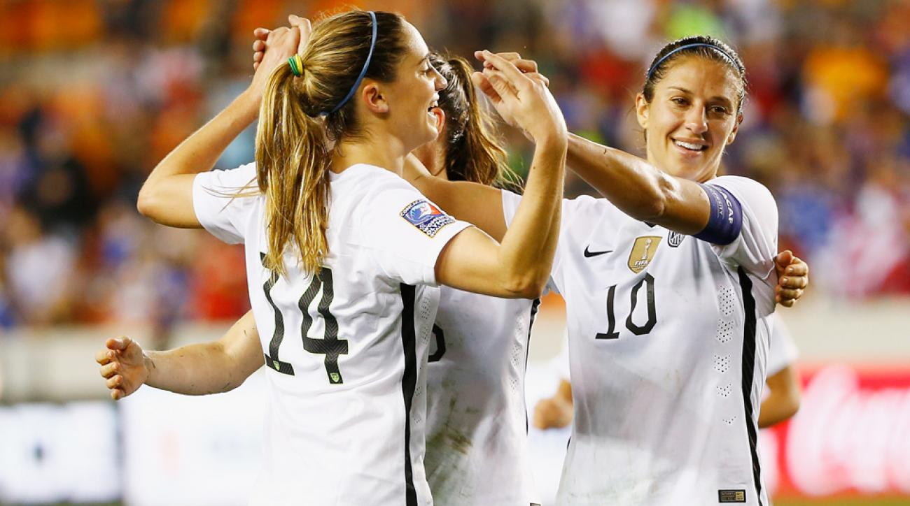The USWNT secured its berth in the 2016 Olympics in Rio