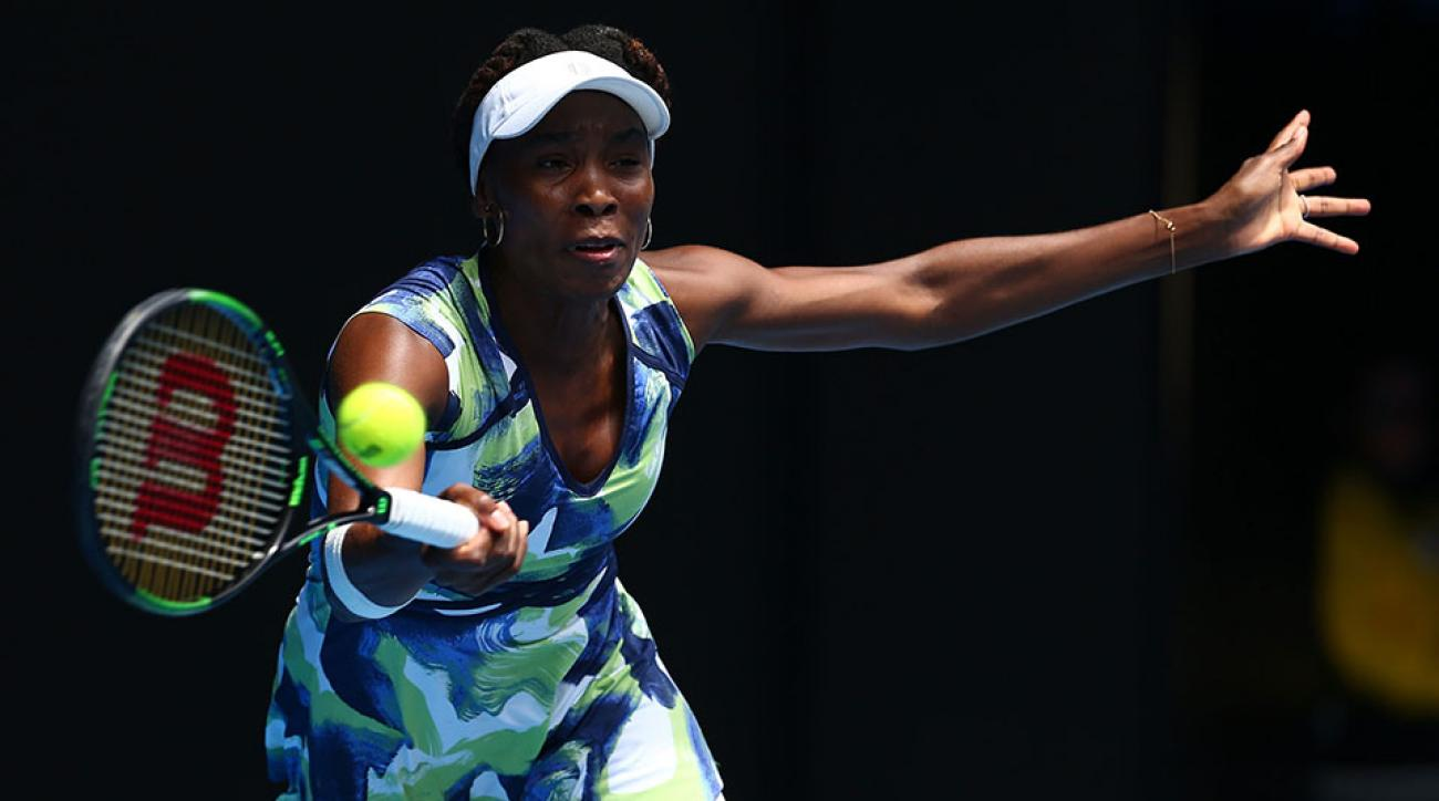 venus williams loses eliminated australian open johanna konta