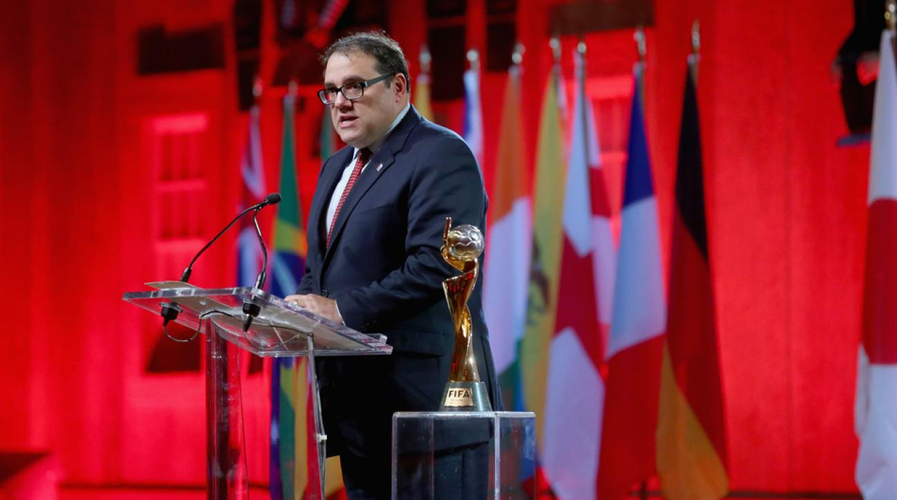 Canadian Soccer Association president Victor Montagliani is running for CONCACAF president