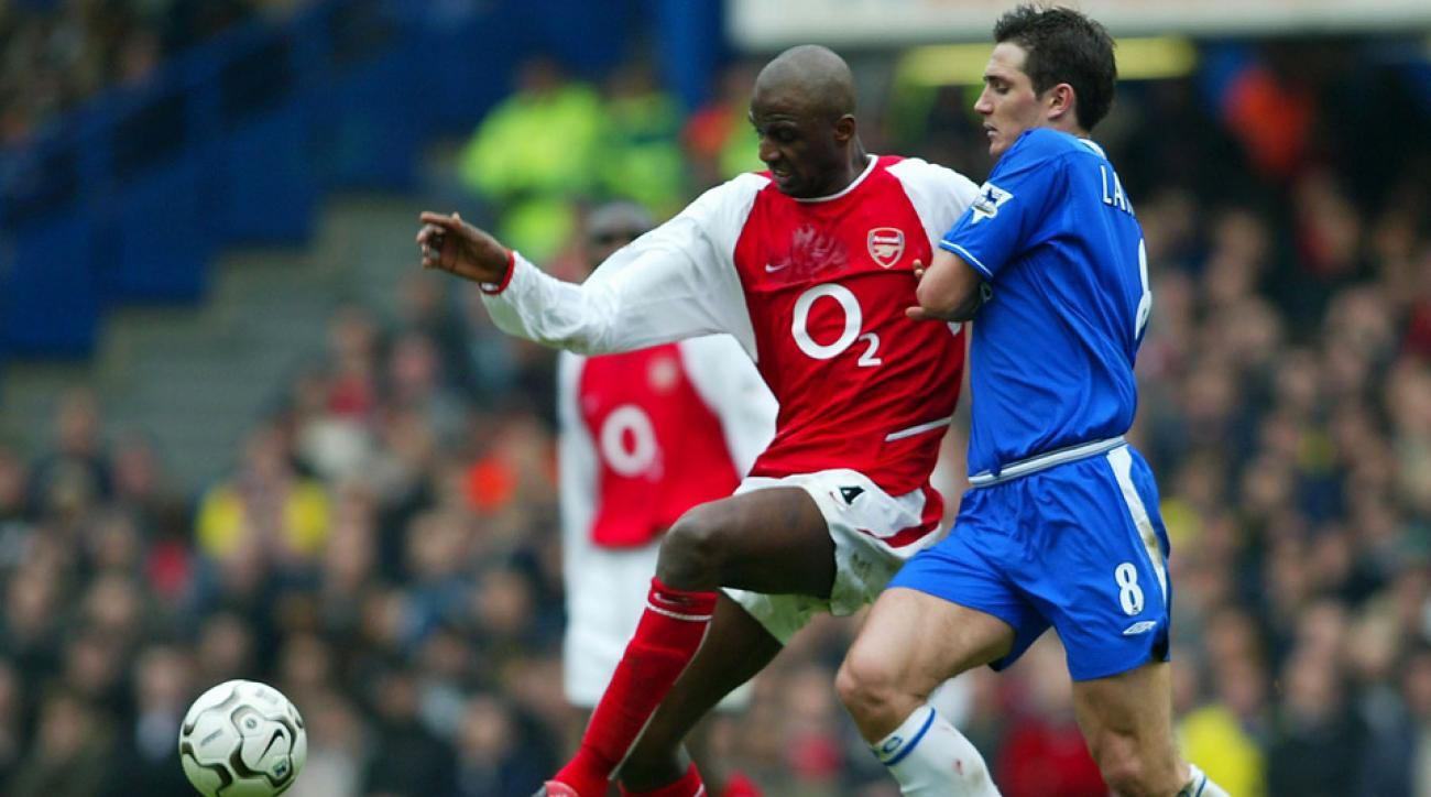 Patrick Vieira played against Frank Lampard while the two were in the Premier League