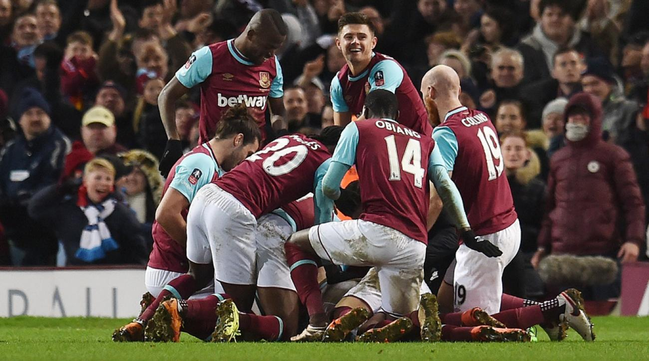 Angelo Ogbonna's goal lifted West Ham over Liverpool in the FA Cup
