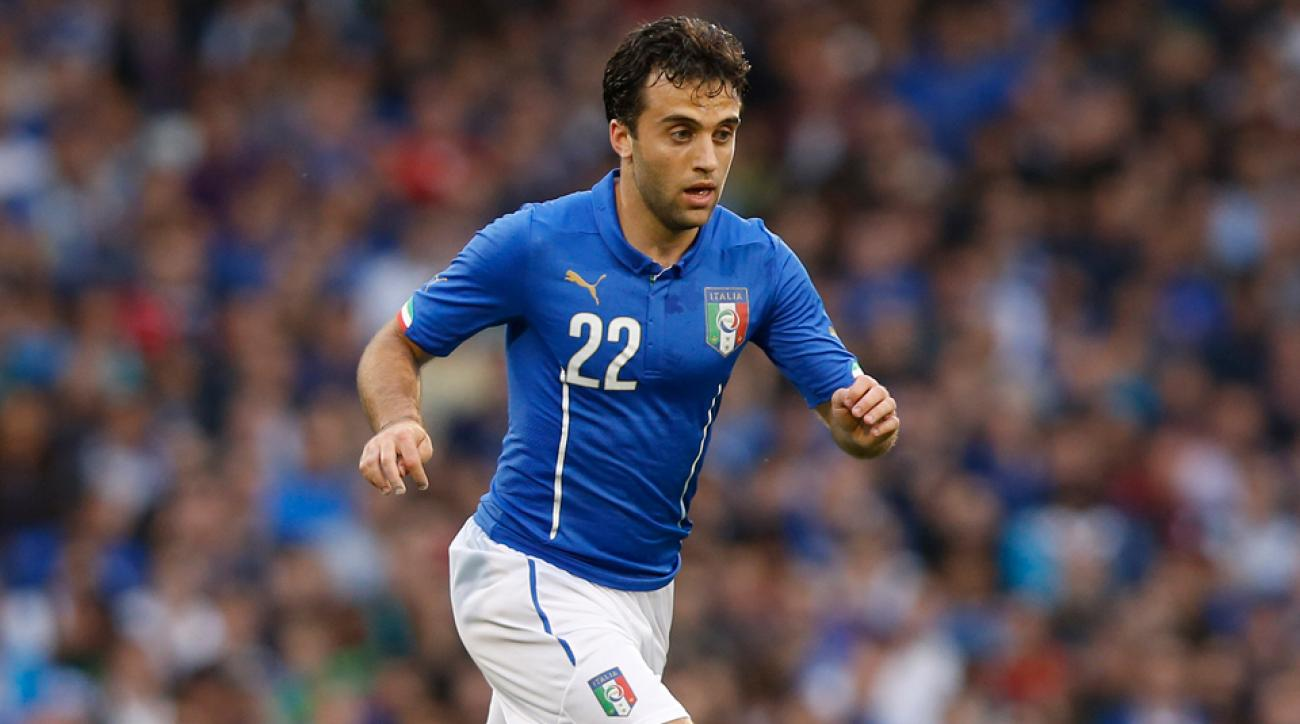 U.S.-born Giuseppe Rossi has missed out on Italy's World Cup roster for a second straight cycle.