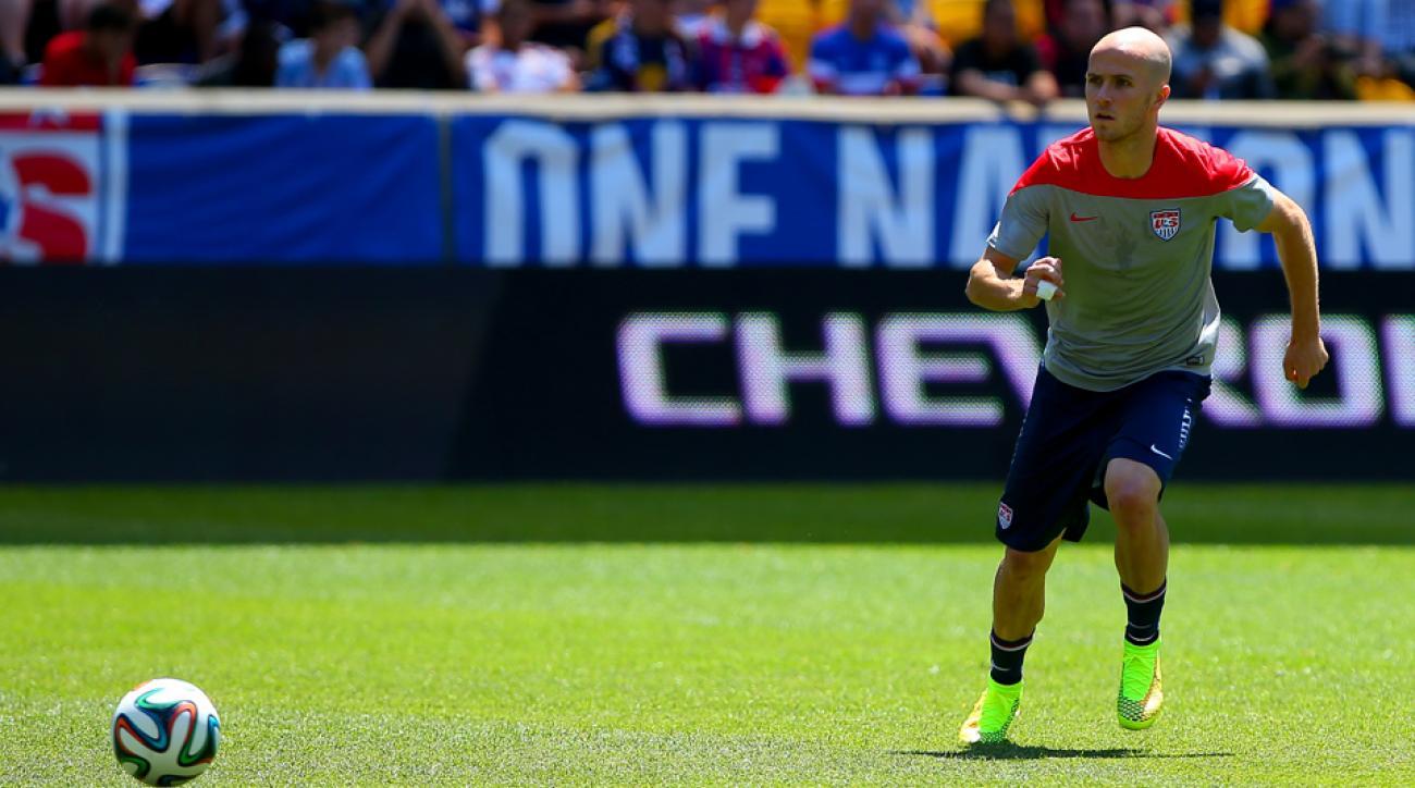 "U.S. men's national team midfielder Michael Bradley is the star of ESPN's latest ""This Is SportsCenter"" commercial."