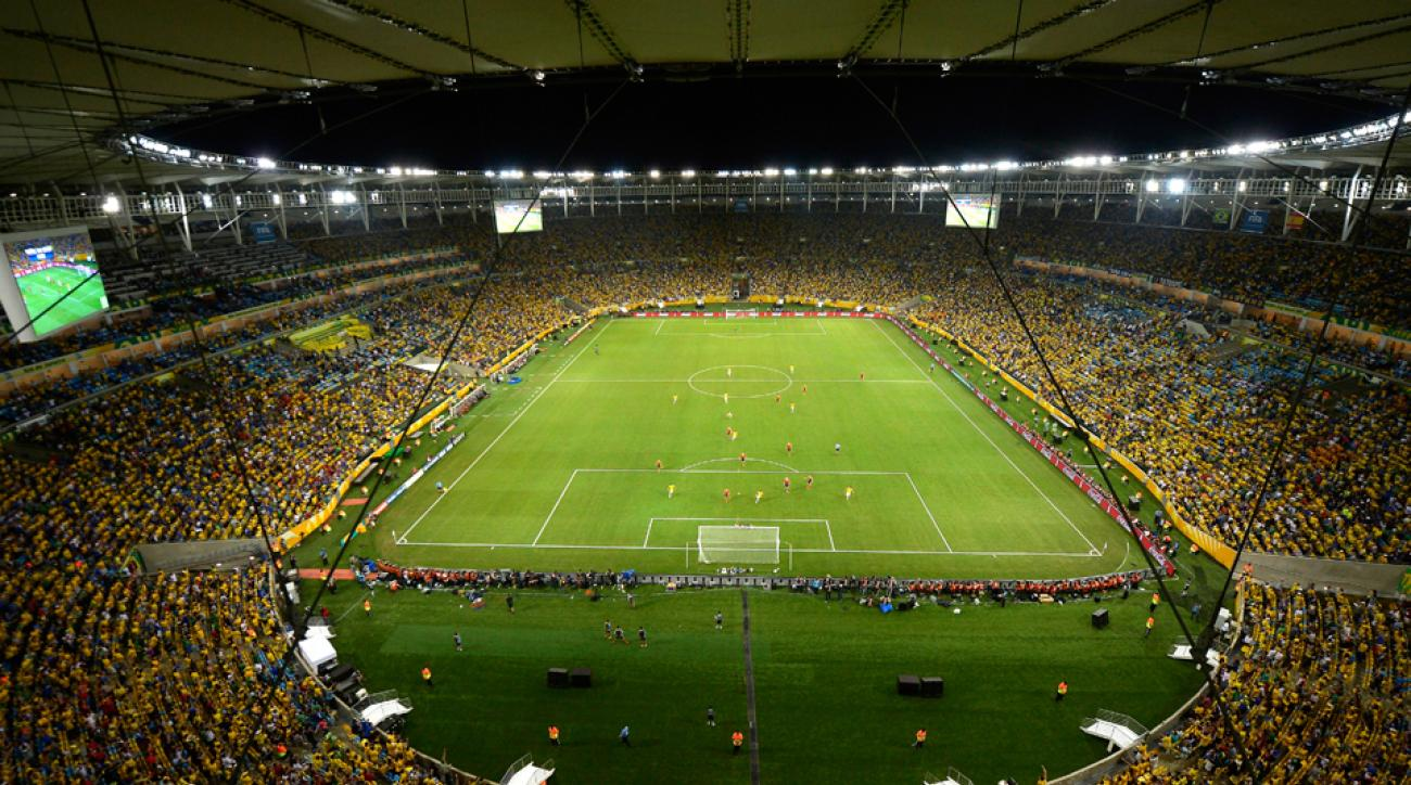 The Maracana in Rio will field seven matches during the World Cup while surely drawing the focus of social media masses as well.
