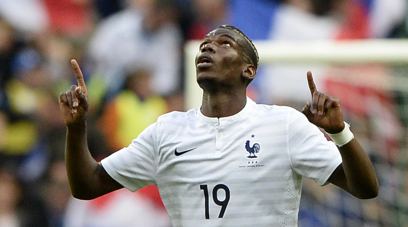 21-year-old Paul Pogba captured the World Cup Young Player Award for his performances in France's five games.