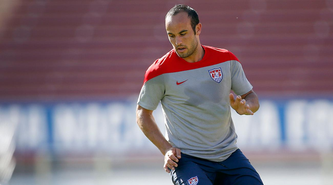 USA all-time leading scorer and World Cup snub Landon Donovan has made the comical most of his absence.