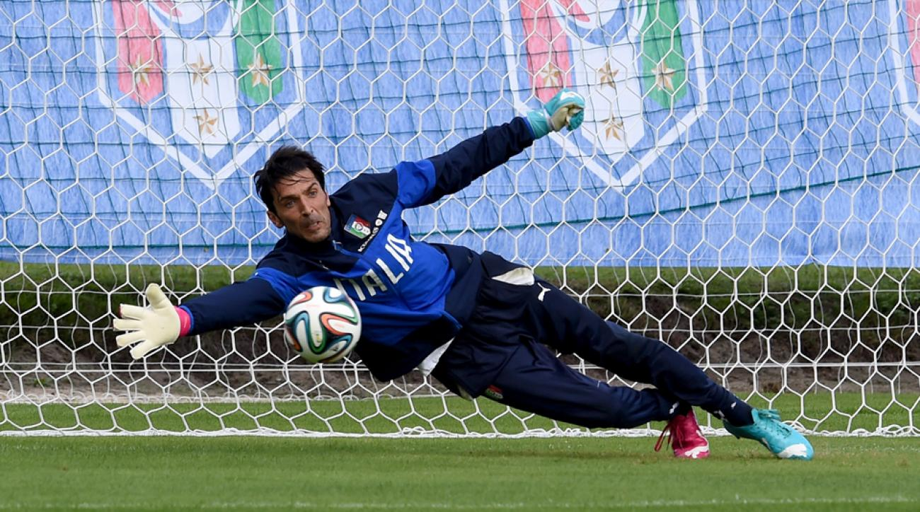 Italy veteran goalkeeper Gianluigi Buffon is set to miss the Azzurri's World Cup opener against England.