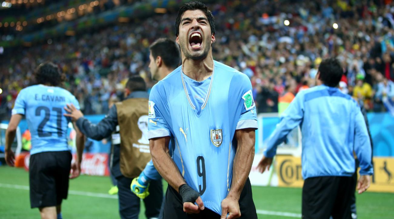 Luis Suarez and Uruguay need a win over Italy to advance to the knockout stage of the World Cup.