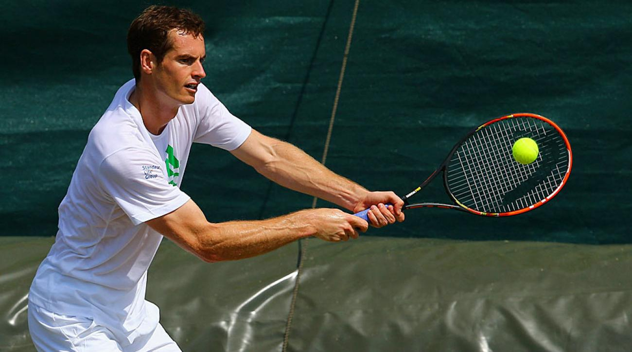 Andy Murray 2014 Wimbledon preparations