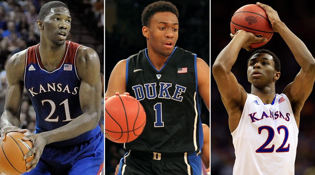 Joel Embiid, Jabari Parker and Andrew Wiggins headline a deep 2014 NBA draft class.