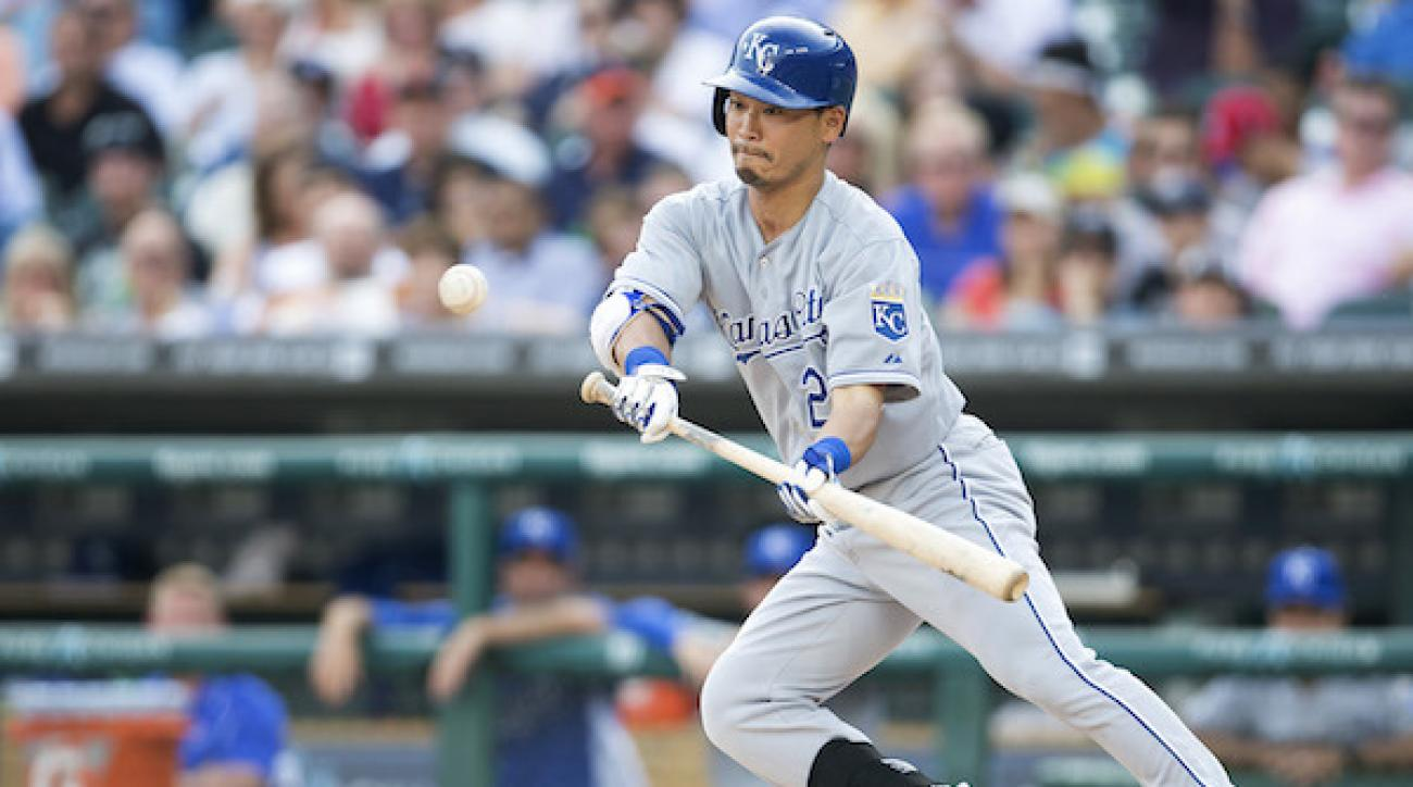 Nori Aoki strained his groin during a game against Detroit