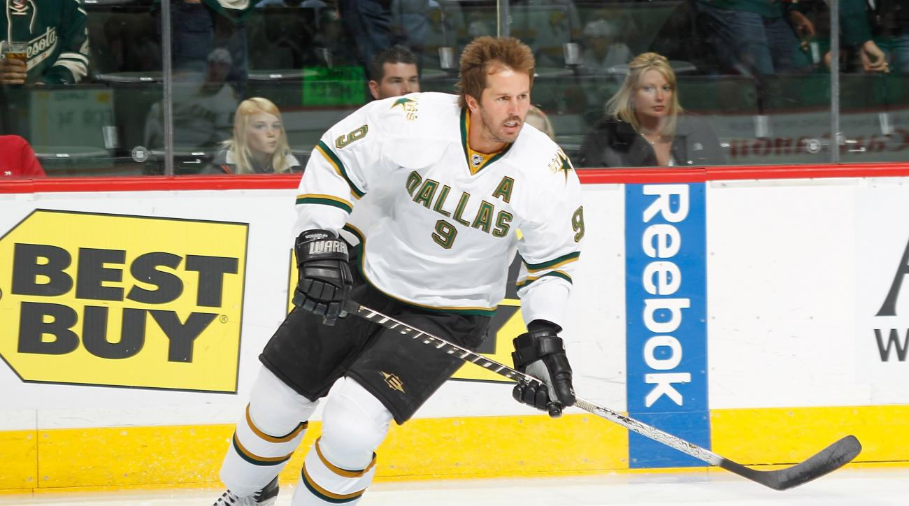 Modano played 20 years for the Stars, beginning when the team played in Minnesota.
