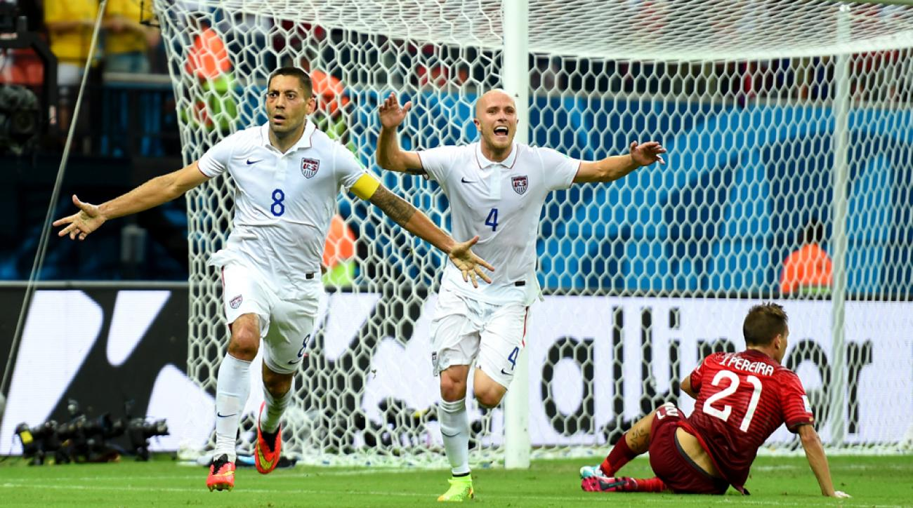 Clint Dempsey, left, and Michael Bradley are helping carry the flag for MLS at the 2014 World Cup.