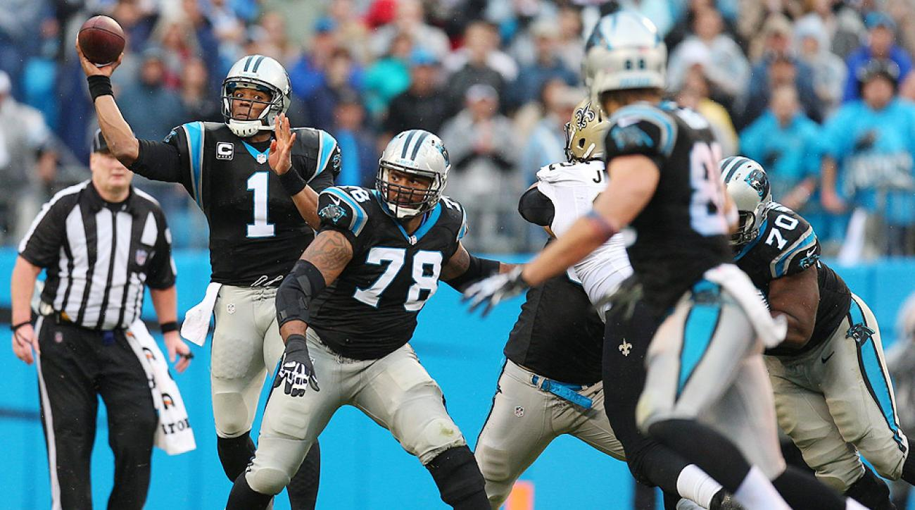 Cam Newton (1) will have to build a rapport with his new weapons ... and fast.