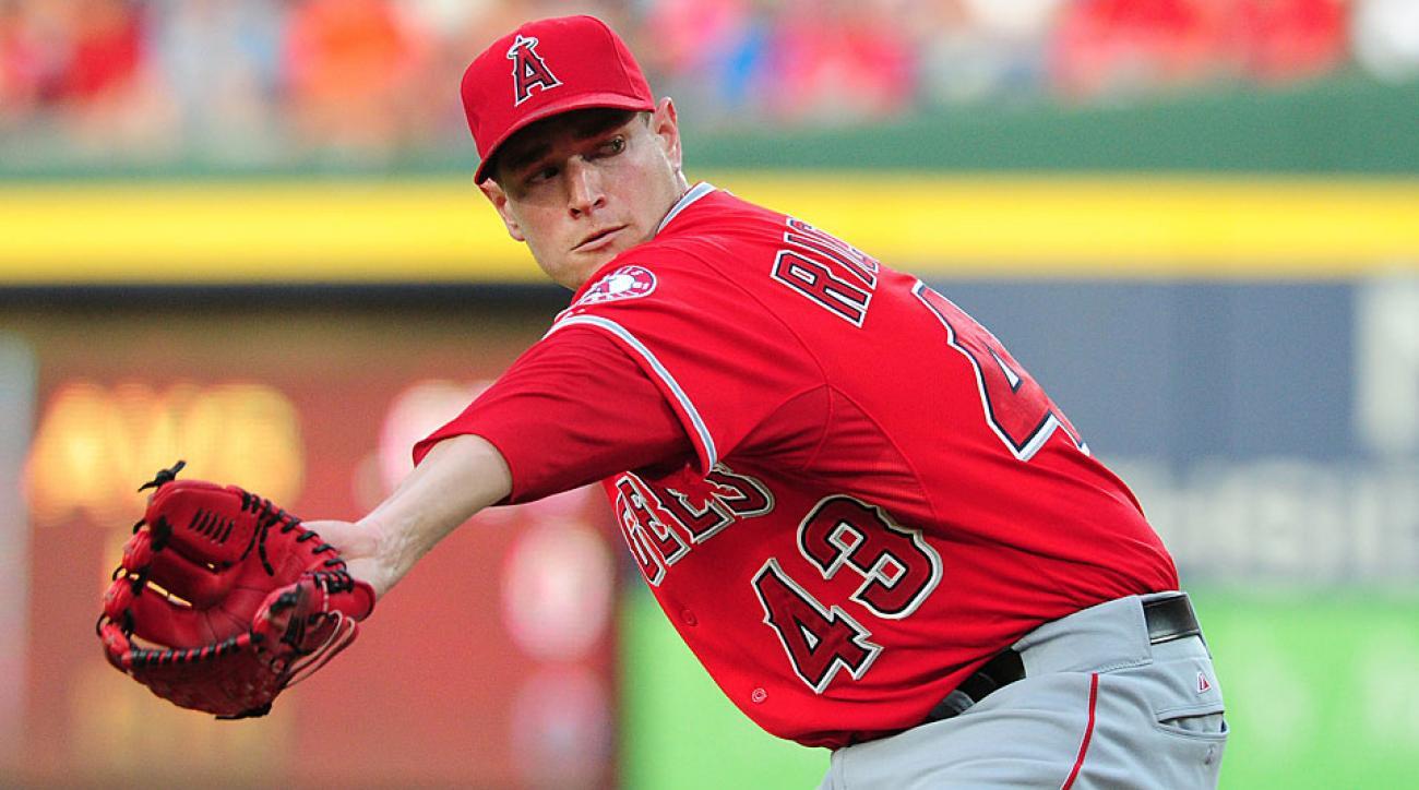 A stellar June has helped Garrett Richards lead Los Angeles' starters in winning percentage, ERA and fewest hits allowed per nine innings.
