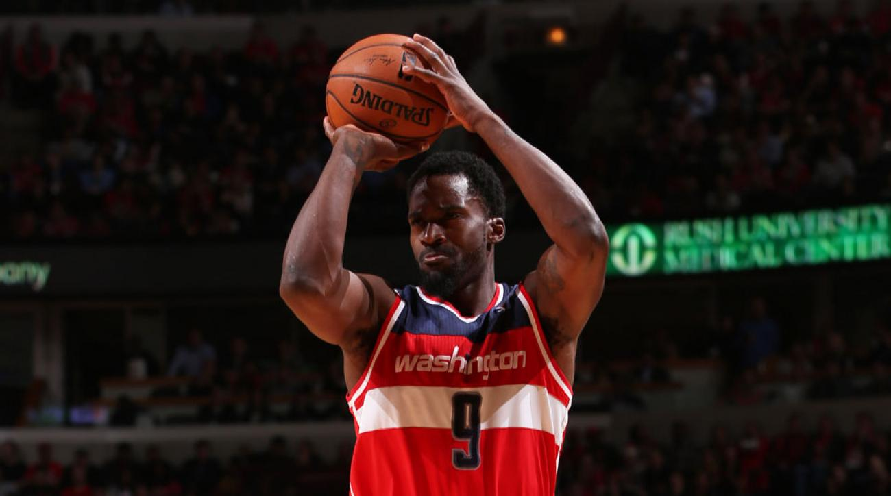 Martell Webster had back surgery to repair a herniated disc yesterday
