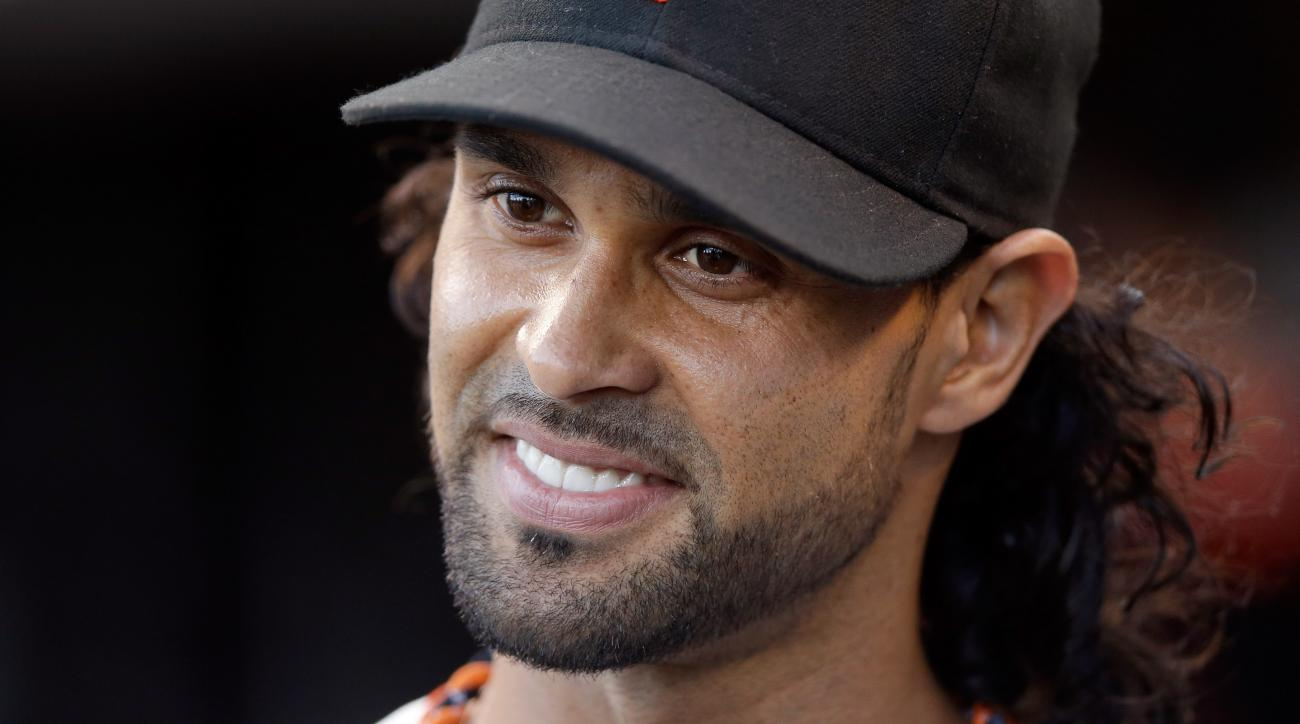 Angel Pagan was batting .307/.356/.411 prior to missing time due to back issues.