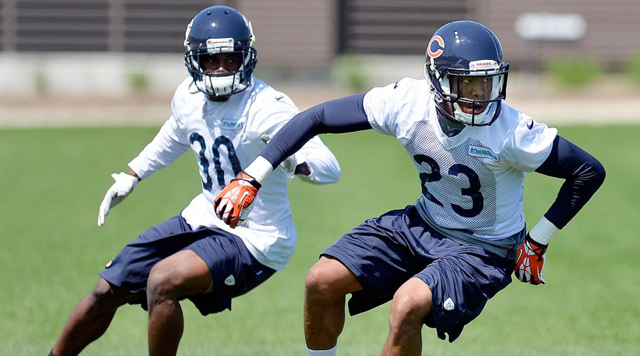 Selected 14th overall in the draft, Kyle Fuller (right) brings an injection of youth to the Bears secondary.