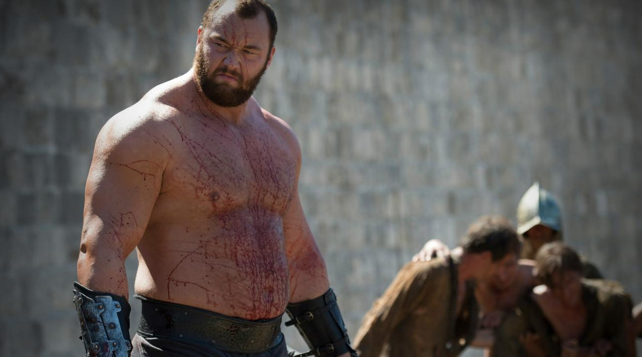 game of thrones mountain loses arm wrestling