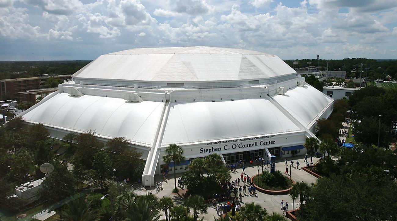 The O'Connell Center houses several UF sports, including basketball, gymnastics and swimming and diving.