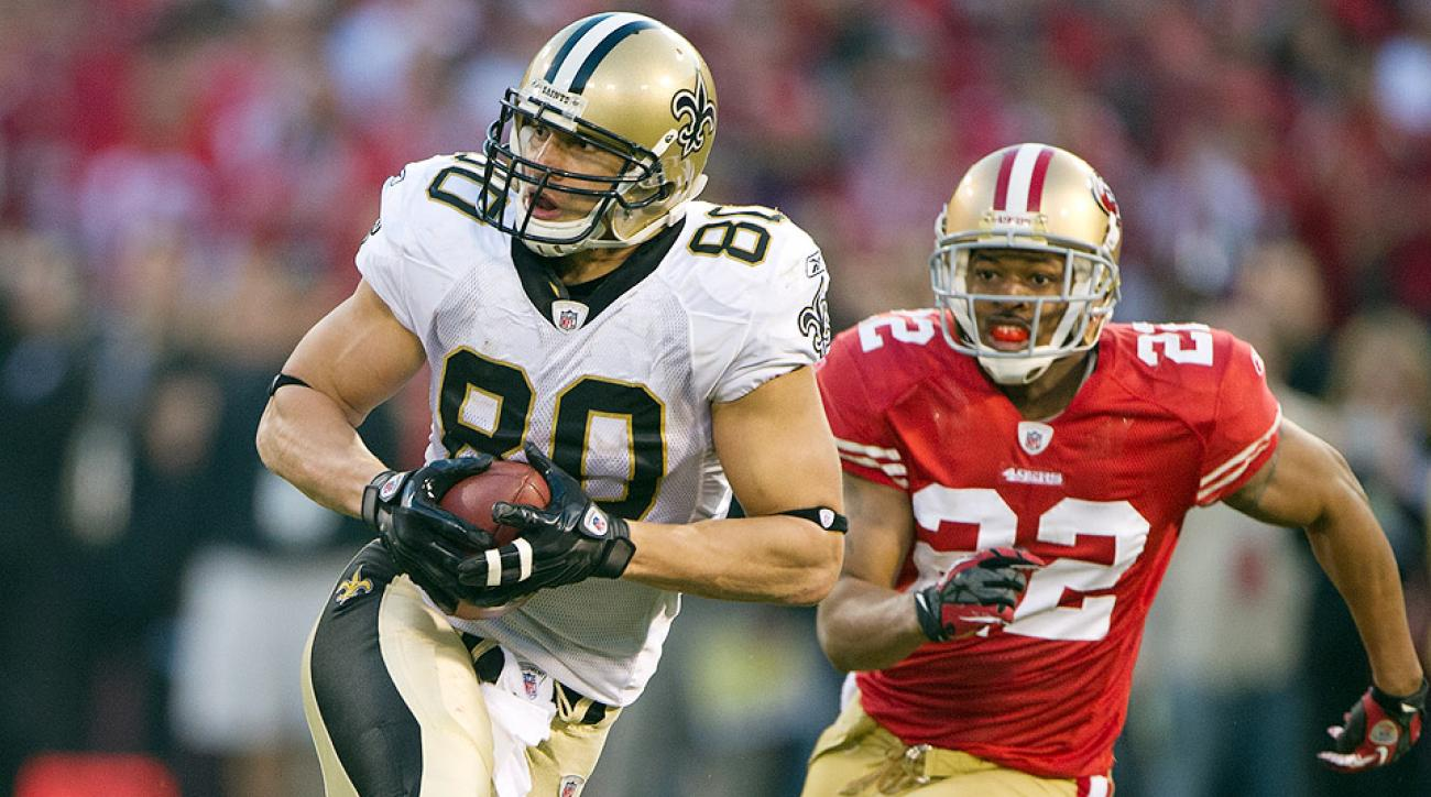 Jimmy Graham ruled tight end in franchise tag dispute with Saints