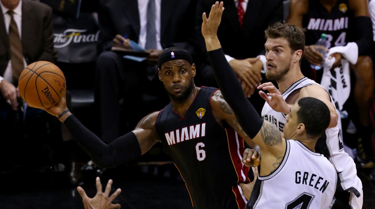 f01be36742be LeBron James has won four MVP awards and two titles during his 11-year  career