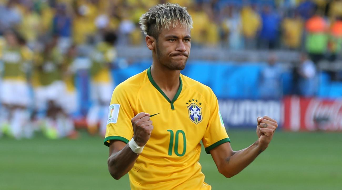 Brazil looks to leading scorer Neymar to step up against Colombia as the host nation aims to avoid elimination in the World Cup quarterfinals.