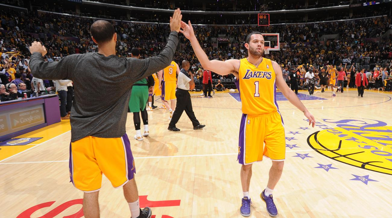 Jordan Farmar left more than $3 million of guaranteed money in Turkey to play with the Lakers last season.