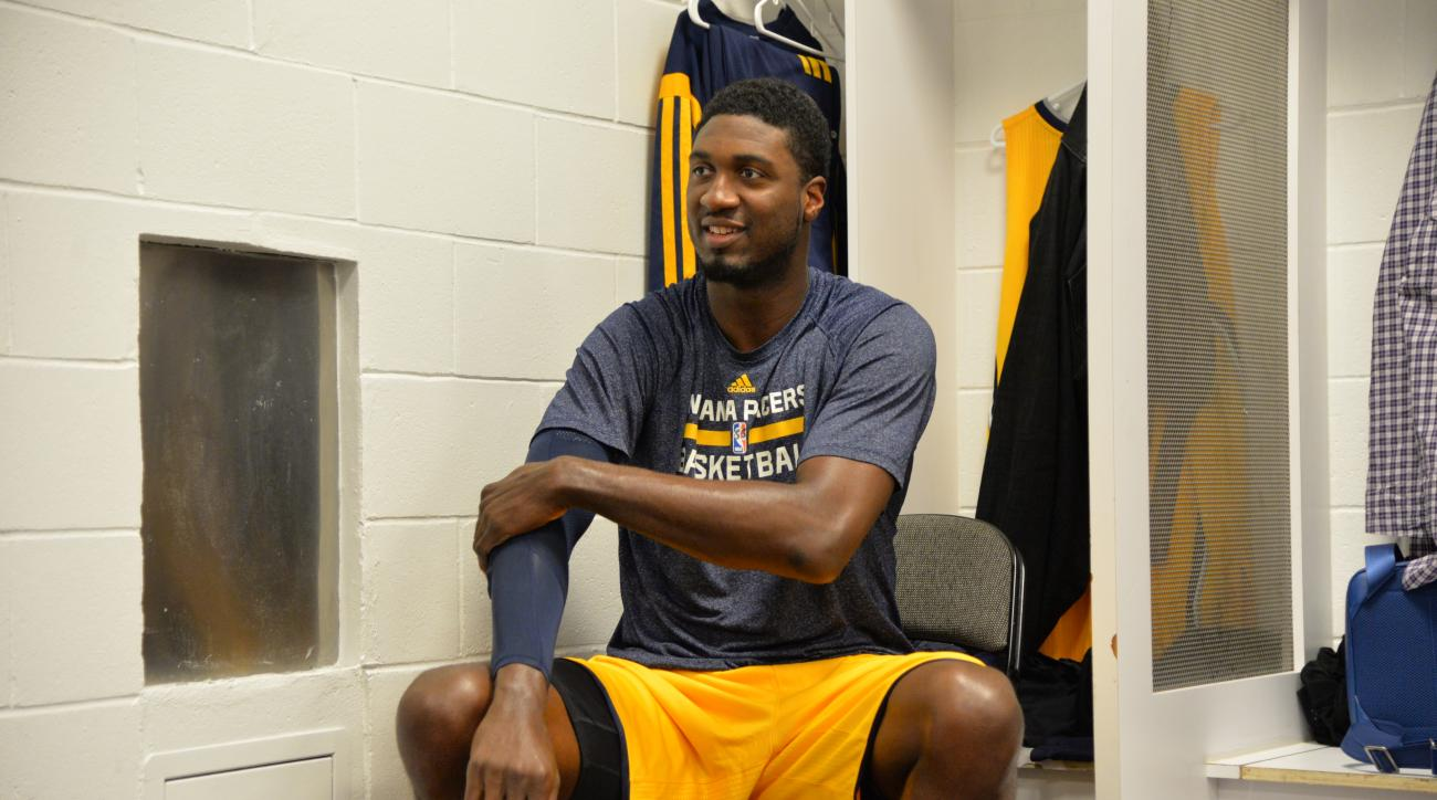 Roy Hibbert averaged 9.3 points and 5.5 rebounds this past postseason.
