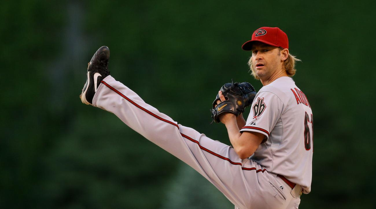 Bronson Arroyo is currently in the first year of a two-year contract worth $23.5 million.