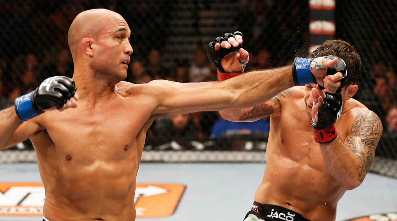 B.J. Penn wanted a victory over an old nemesis in Frankie Edgar, but he instead found a quick defeat.