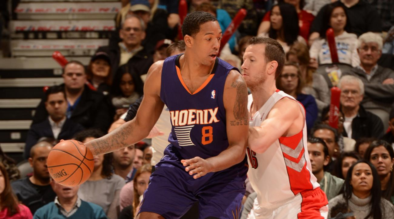 Channing Frye (left) averaged 11.1 points and 5.1 rebounds per game last season.