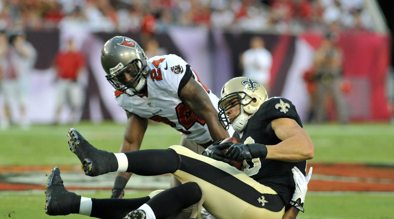 Jimmy Graham Mark Barron Draft New Orleans Saints Tampa Bay Buccaneers