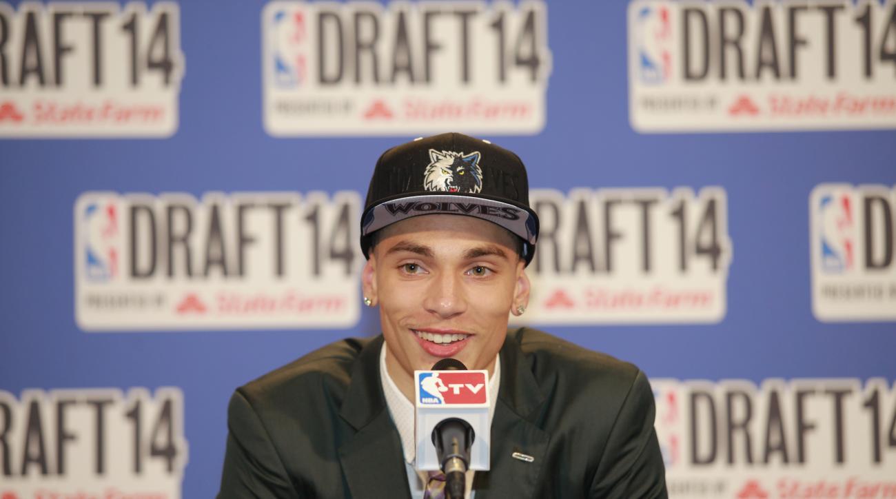 The Minnesota Timberwolves signed first-round pick Zach LaVine