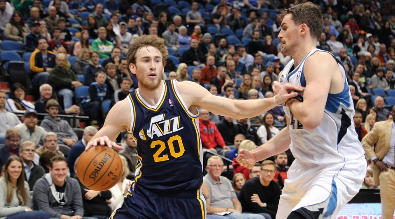 Gordon Hayward was Utah's leading scorer last season.