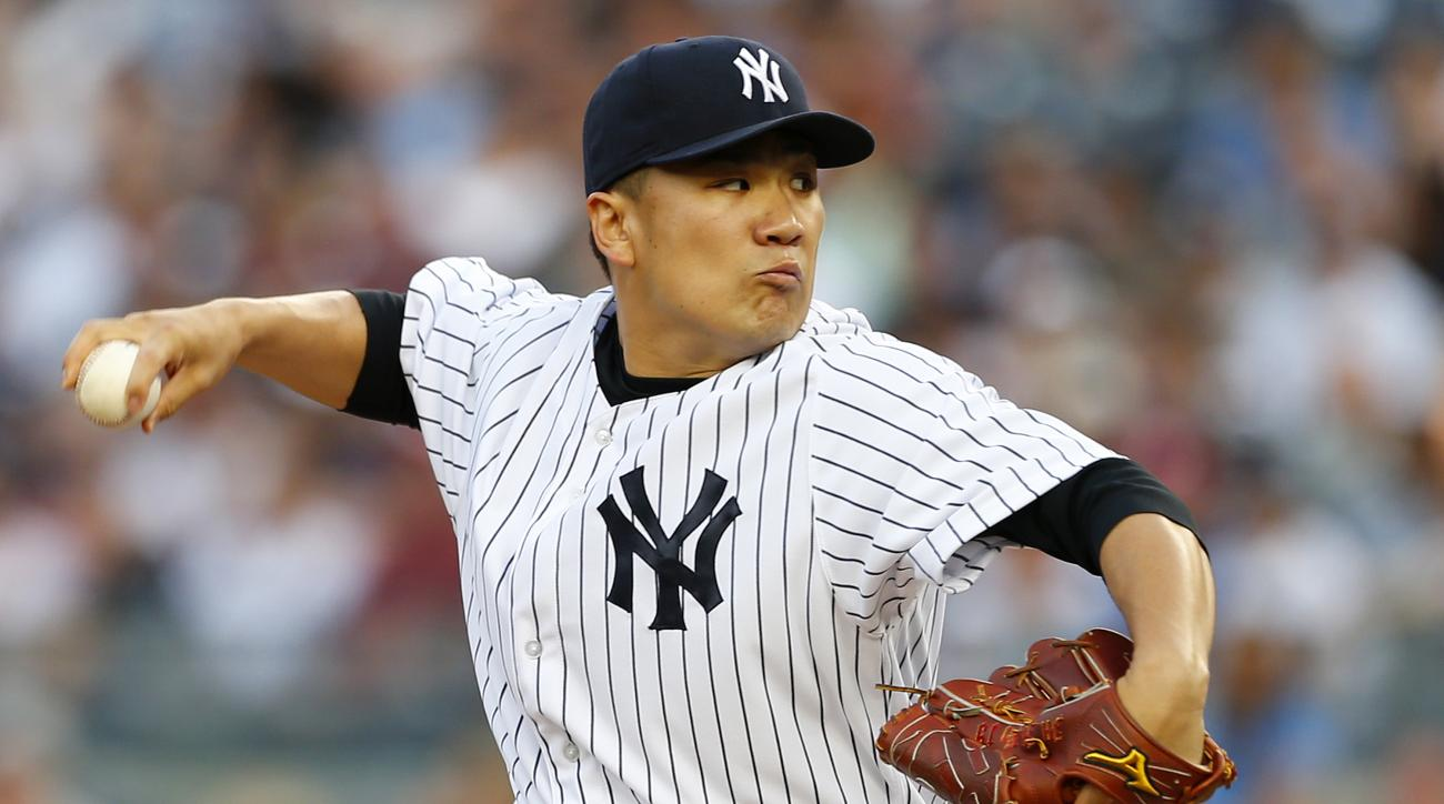 Masahiro Tanaka has left the Yankees to undergo an MRI on his right arm