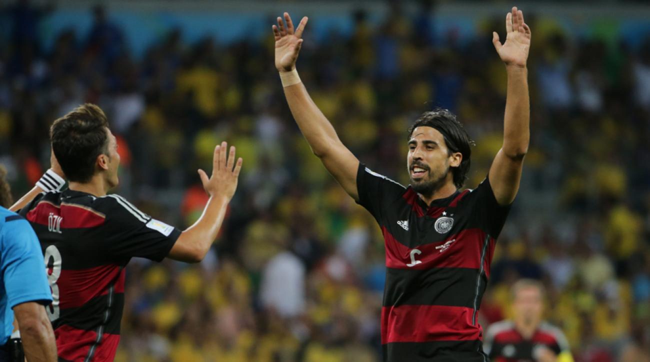 Sami Khedira's goal received over 500,000 tweets per minute
