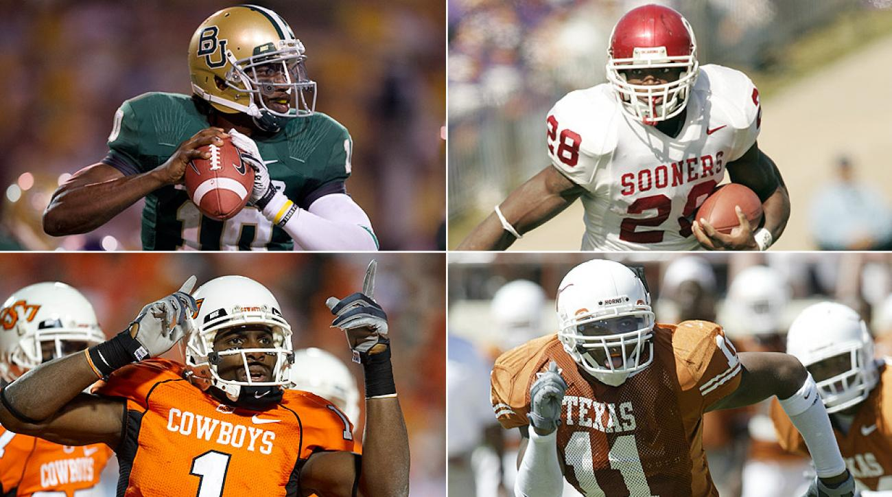 Robert Griffin III, Adrian Peterson headline All-Big 12 NFL alumni team