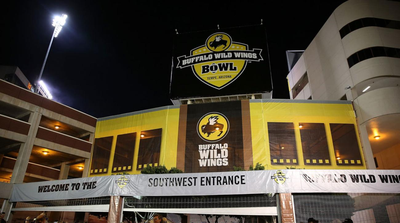The Buffalo Wild Wings Bowl will be renamed the Cactus Bowl