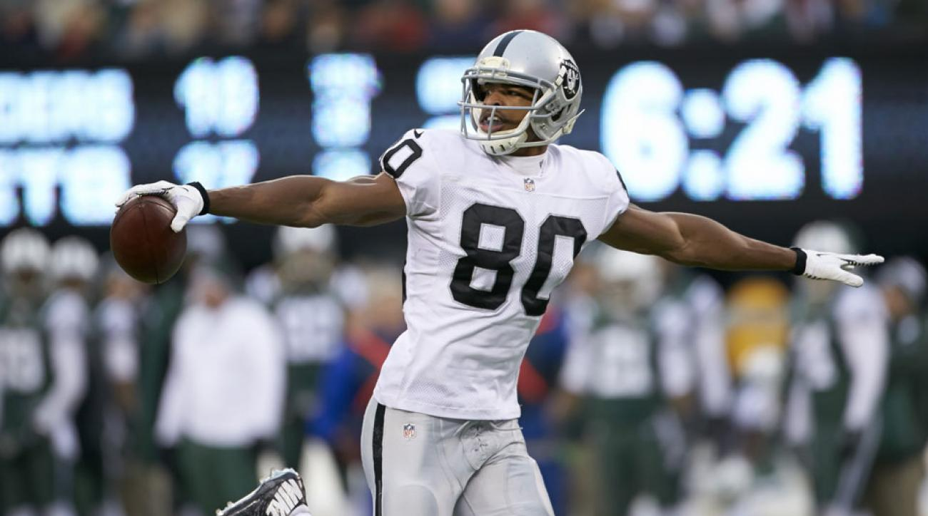 Rod Streater, Tyvon Branch are recommended draft picks in Oakland Raiders 2014 fantasy football prep