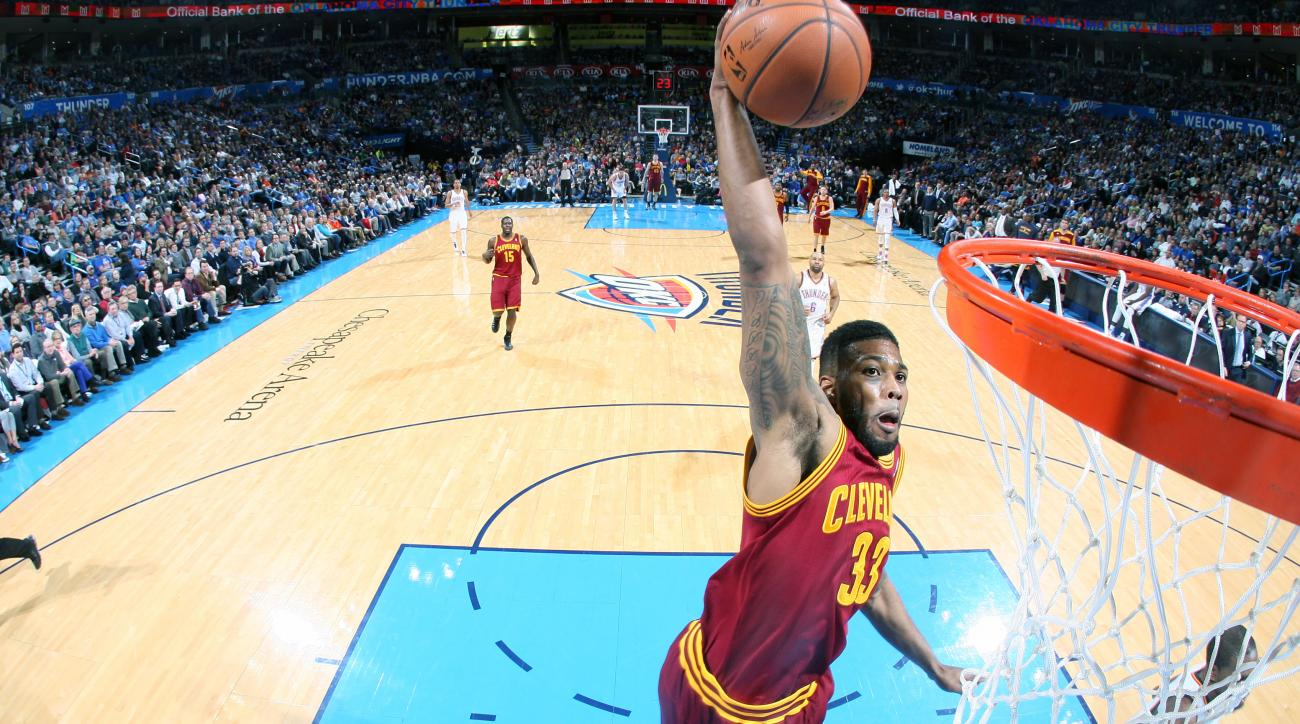 The Cleveland Cavaliers are trading Alonzo Gee to the New Orleans Pelicans