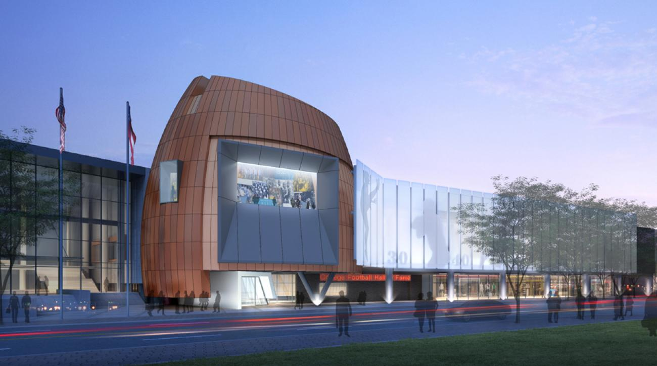College Football Hall of Fame opening next month